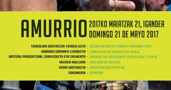 Txakoli Eguna 2017 en Amurrio. Vídeo Oficial.